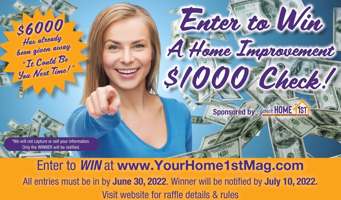 Win A 1000 Home Improvement